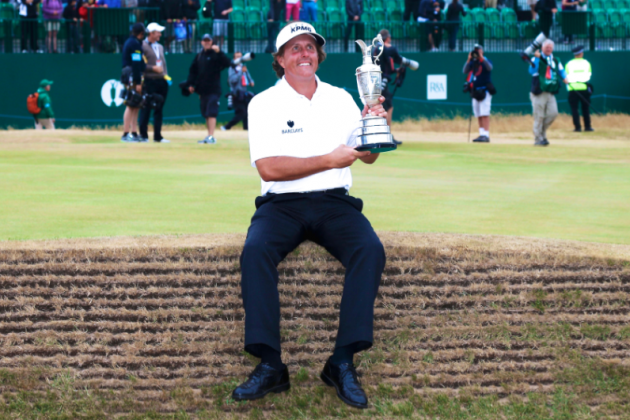 British Open 2013 Winner: Phil Mickelson Says, Does All the Right Things