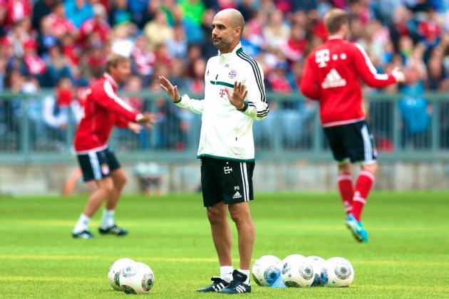Bayern Munich's Preseason Form Suggests Guardiola Wants Tiki-Taka in Bavaria