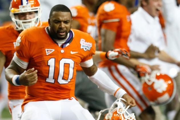 Clemson QB Tajh Boyd on Clowney: 'That Will Take Care of Itself in November'