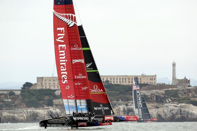 Emirates Team NZ Earns 6th Point of Louis Vuitton Cup