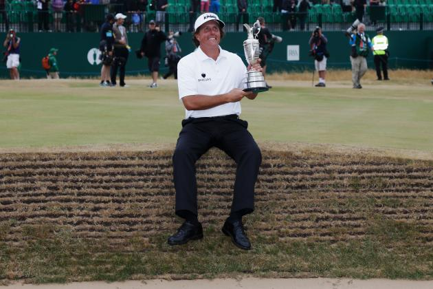 British Open Winner 2013: Recapping Phil Mickelson's Thrilling Win at Muirfield