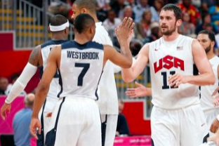Westbrook, Love Interested in Playing for Team USA Next Summer