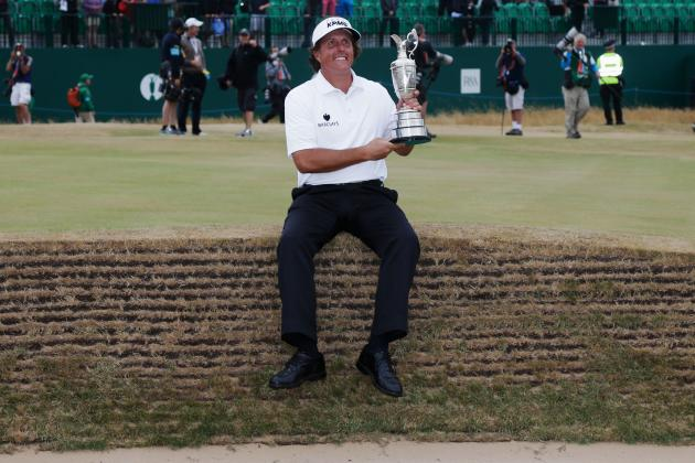 British Open Winner 2013: Phil Mickelson Becomes an All-Time Great with Win