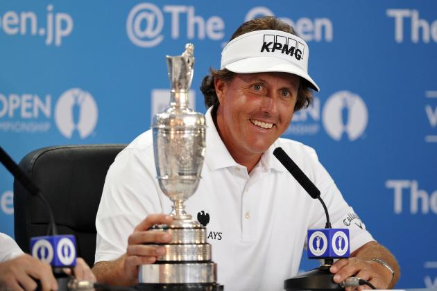 Phil Mickelson Gains Golfing Immortality with Open Win at Muirfield