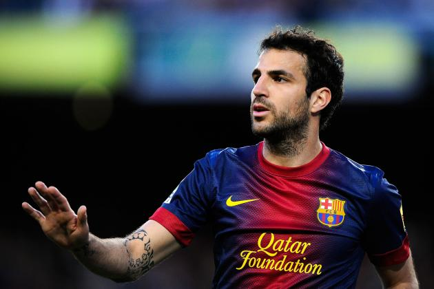 Manchester United Transfer Rumours: Red Devils Must Land Cesc Fabregas