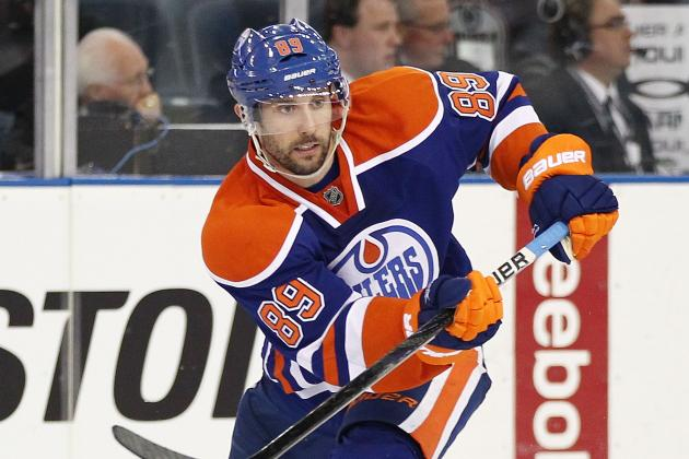 Sam Gagner, Oilers Avoid Arbitration with Three-Year, $14.4 Million Deal