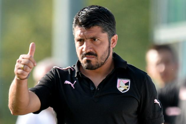 Gattuso Not Ready Yet for Milan