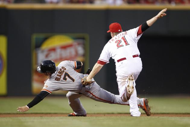 Cincinnati Reds (55-43) at San Francisco Giants (45-52), 10:15 P.m. (ET)