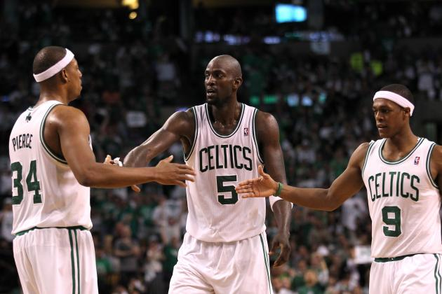 Pierce, Garnett Talk Rondo's Adjustment to Injury, Very Different Team