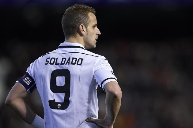 Roberto Soldado Too Much for Tottenham at £25M