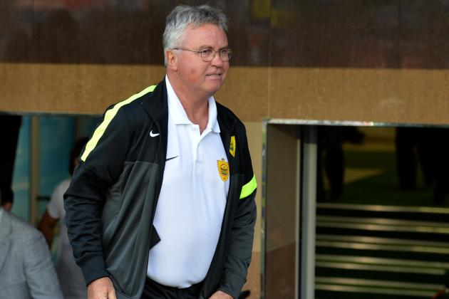 Guus Hiddink Quits Anzhi Makhachkala as Barcelona Speculation Swirls