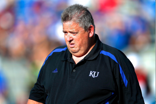 Kansas Head Coach Charlie Weis Bashes His Own Team at 2013 Big 12 Media Days
