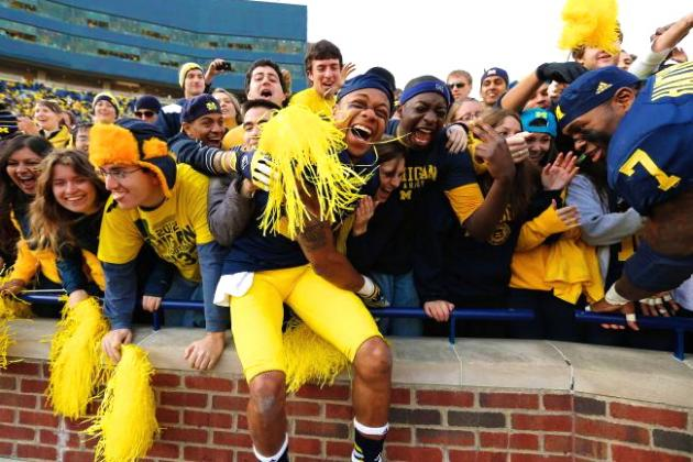 New Study Names Michigan as College Football's Most Engaged Fans
