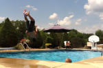 Flip Basketball Shot Raises the Bar for Pool Shot