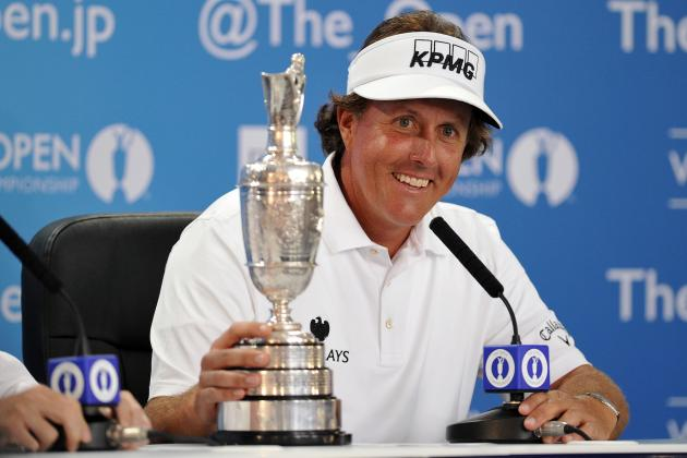 Who's the 2013 Golfer of the Year Right Now: Tiger Woods or Phil Mickelson?
