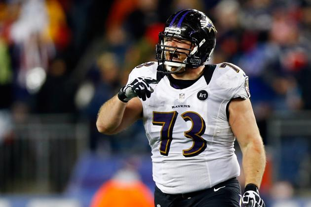Jameel McClain, Marshal Yanda Placed on Physically Unable to Perform List