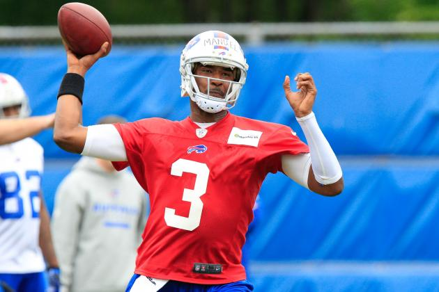 Hope Rides on the Arm of Bills' Rookie Quarterback