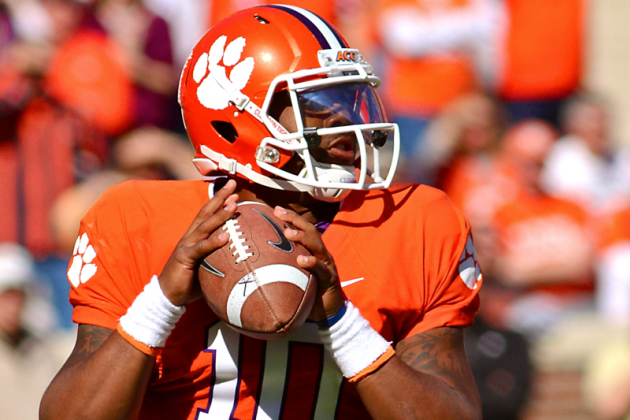 2013 ACC Media Poll Picks Clemson to Win, Votes Tajh Boyd as Player of the Year