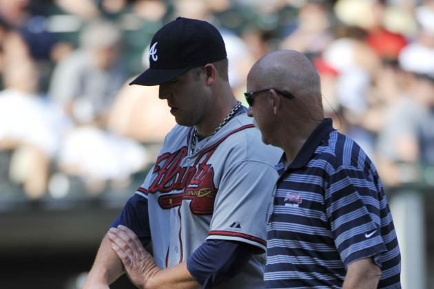Paul Maholm Goes on Disabled List with Wrist Contusion