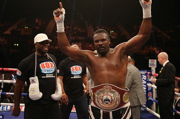Chisora Mandatory Challenger for Pulev's European Heavyweight Title