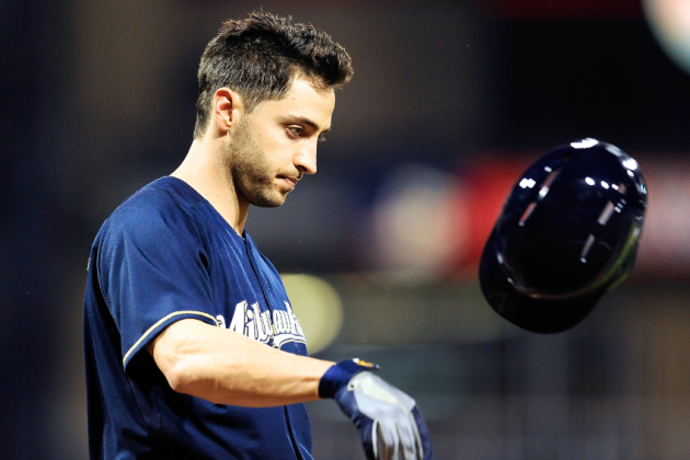 Major League Baseball Suspends Ryan Braun for Remainder of 2013 Season