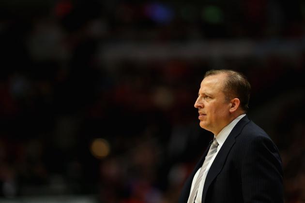 Chicago Bulls Management Must Value Tom Thibodeau, Keep Him Happy