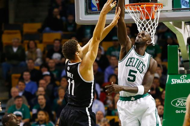 Breaking Down How Kevin Garnett Can Make Brook Lopez an Elite NBA Center