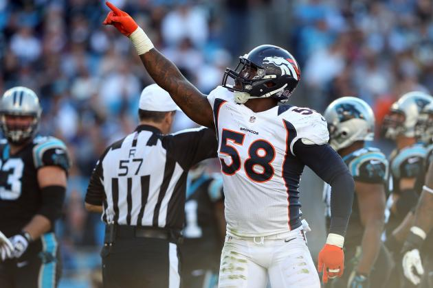 Von Miller's Possible Suspension Wouldn't Destroy Broncos' Playoff Chances