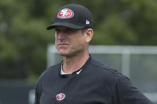 Harbaugh No-Comments His Way Through Touchy Questions
