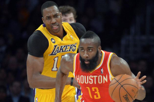 Will Houston Rockets Belong to James Harden or Dwight Howard in 2013-14?