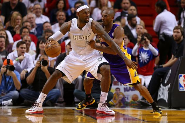 LeBron James Isn't Looking to Help Kobe Bryant Rebuild the Los Angeles Lakers