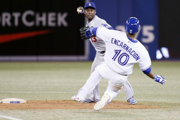 Blue Jays Fall to Dodgers 14-5