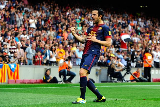 Manchester United Transfer Rumours: Latest on Cesc Fabregas and More Top Targets