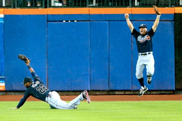 Braves vs. Mets Video: Watch Jason Heyward's Incredible Game-Ending Catch