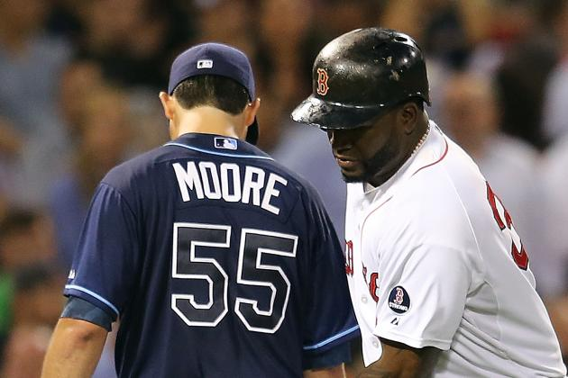Red Sox Have No Answer for Matt Moore, Rays in Shutout Loss