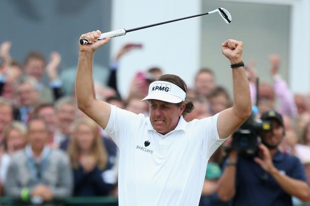 Breaking Down Phil Mickelson's Best Chances to Capture Career Grand Slam
