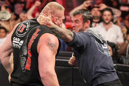 CM Punk to Face Brock Lesnar at SummerSlam PPV