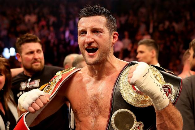 Froch-Groves IBF/WBA Title Fight Announced