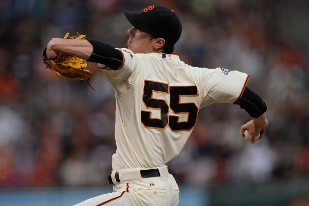 How Tim Lincecum's Arm Looked Coming Back from His 148-Pitch No-Hitter