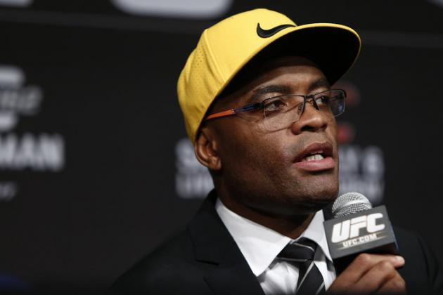 Teary-Eyed Anderson Silva Assures Fans His Bout with Chris Weidman Wasn't Fixed