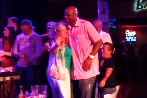 Charles Barkley Dances at Ray Allen's Birthday Party