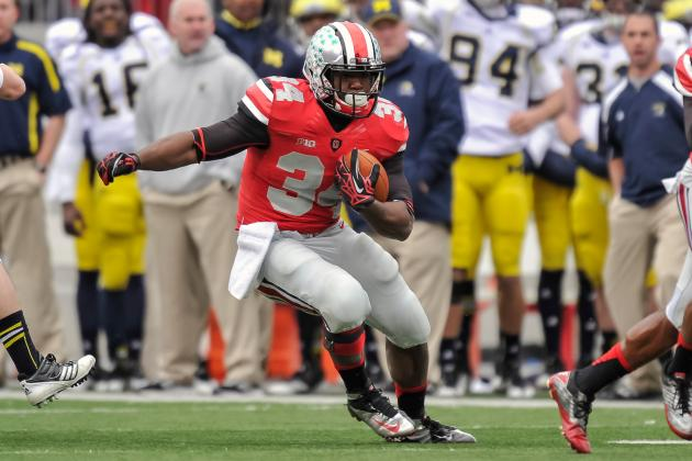 Carlos Hyde's Suspension Will Derail Ohio State's Rushing Attack in 2013
