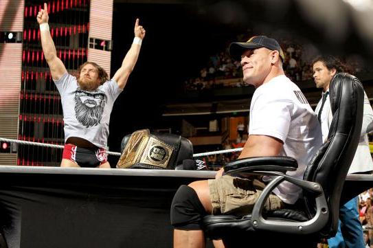 WWE's Push of Daniel Bryan Is Sad Effort to Get John Cena Cheers