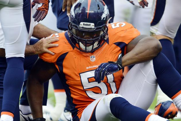 Broncos Cut Middle Linebacker Joe Mays