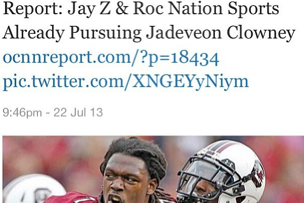 Instagram: Clowney Responds to Jay Z Report