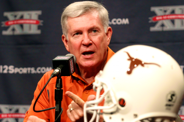 Mack Brown Says Big 12 Is More Balanced Than SEC, Praises David Ash to Media