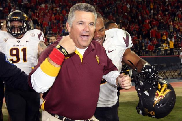 Sun Devils Called 'Best Bet' for Pac-12 Title