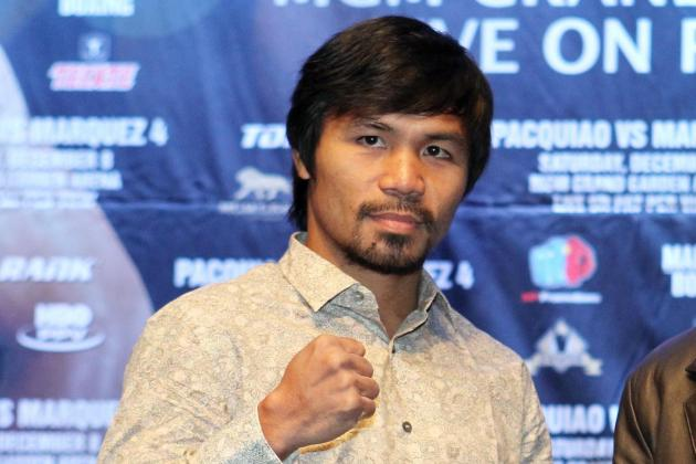 Pacquiao, Rios Plan Exhausting Tour