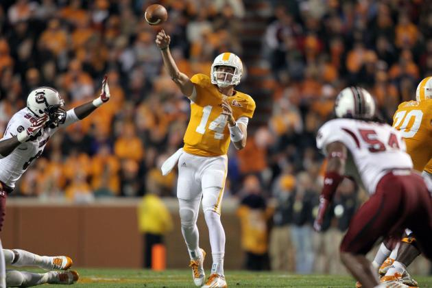 Tennessee Football: Starting QB Job Is Justin Worley's to Lose