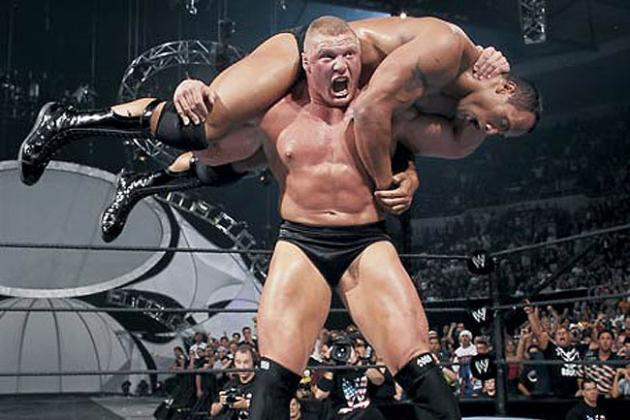WWE Classic of the Week: Examining Brock Lesnar's Undisputed Title Win in 2002
